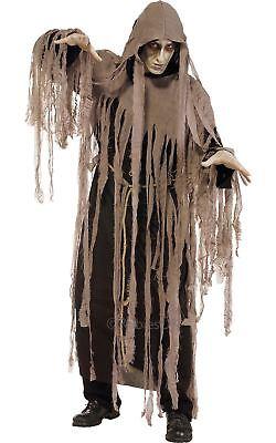 Zombie Alptraum Halloween Herren Verkleidung Geister Ghul Kostüm Outfit ()