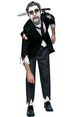 Mens Halloween Horror Fancy Dress Costume Outfit Bloody Butler ()