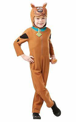 Scooby Doo Kids Fancy Dress Costume Kids Book Week Oufit Cartoon Licensed 1970s