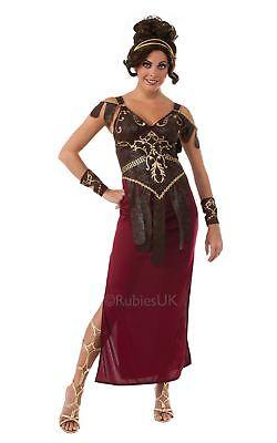Damen Glamazon Kostüm Römisch Griechisch Amazonas Göttin Krieger Kostüm Outfit