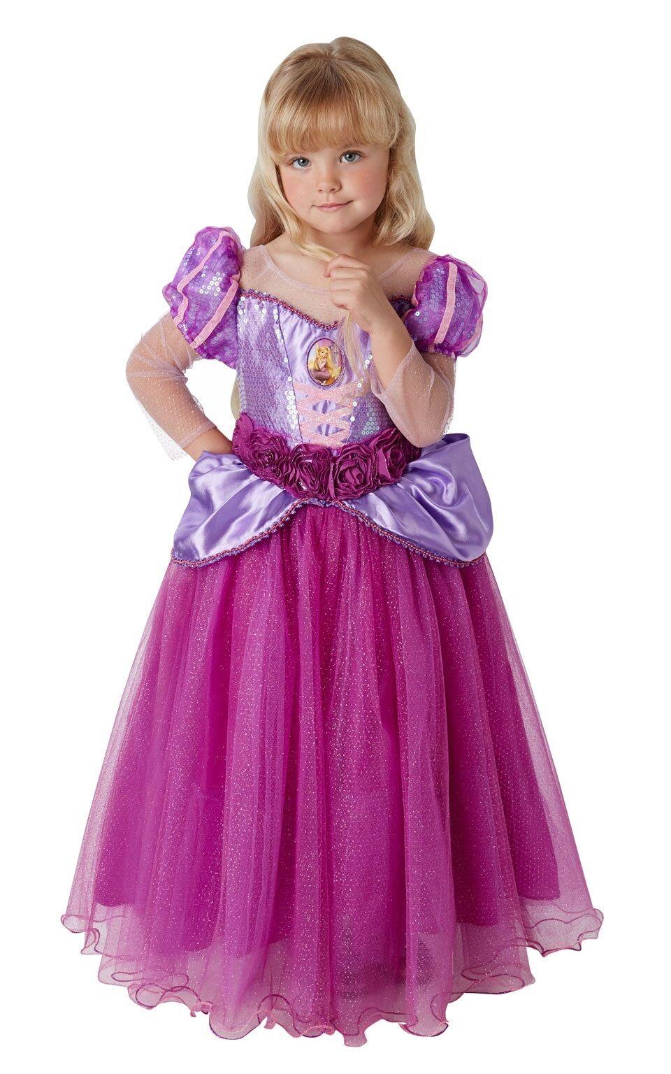 Disney Premium Princess Range  Rapunzel Tangled Full Gown Dress Costume SALE