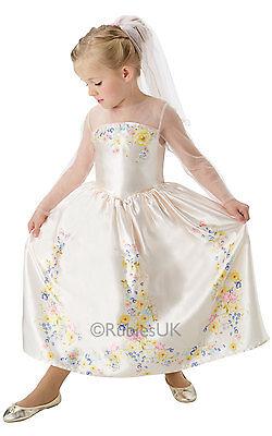 Mädchen Disney Cinderella Hochzeit Prinzessin (Disney Prinzessin Verkleiden Kostüm)
