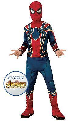 Iron Spider Engame Avengers 4Marvel DC comics Fancy Dress Boys Costume