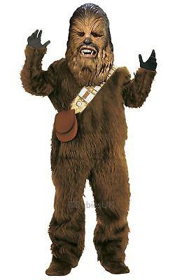 Jungen Luxus Chewbacca Wookiee Star Wars Chewie Maskenkostüm Kinder-Outfit