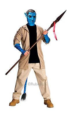 MENS DELUXE JAKE SULLY AVATAR MOVIE NA'VI COSPLAY FANCY DRESS COSTUME - Navi Cosplay Kostüm