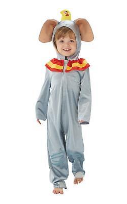 Dumbo Jumpsuit Boys Disney Fancy Dress Costume Outfit Licensed Film