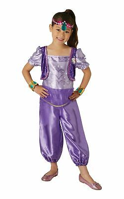 Shimmer Girls Costume Shine Nick Jr Fancy Dress Outfit Official Dressup childs](Kids Dressup Clothes)