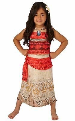 Girls Moana Costume Kids Disney Princess Fancy Dress Fairytale Licensed Dressup](Kids Dressup Clothes)