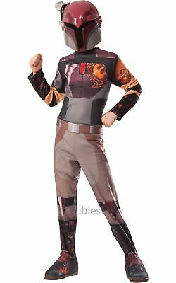 Mädchen Sabine Wren Star Wars Rebellen Disney TV Kostüm Schicke (Sabine Star Wars Kostüm)