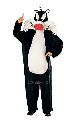FANCY DRESS COSTUME ~ DLX SYLVESTER LOONEY TOONS - Looney Toons Costume