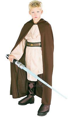 Jungen Jedi Ritter Robe Star Wars Obi Wan Kenobi Film Kostüm Kleid Outfit