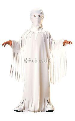 gen Weiß Ghost Robe Kostüm Kleid Outfit (Weißer Halloween Robe)