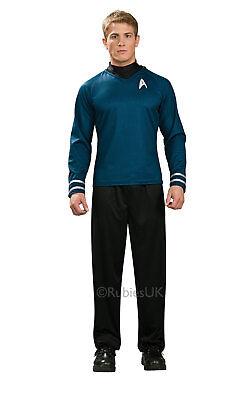 Erwachsene Herren Star Trek Commander Spock Einheitsgröße Shirt (Erwachsene Star Trek Kostüme)