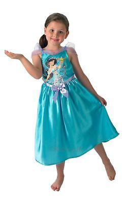 Mädchen Märchenstunde Jasmin Disney Prinzessin Aladdin Film Kostüm Kleid Outfit