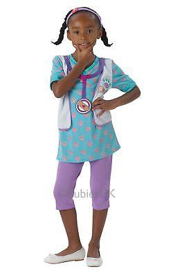 Mädchen Doc Mcstuffins Haustier Tierarzt Kinder TV Kostüm - Tierarzt Kostüm Kinder