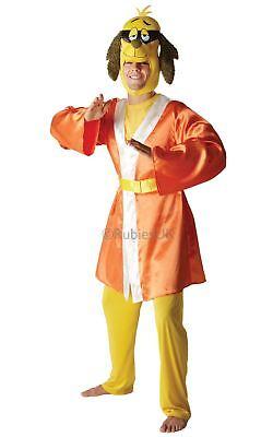 MENS HONG KONG PHOOEY FANCY DRESS 70s TV SHOW CARTOON KUNG FU DOG COSTUME OUTFIT