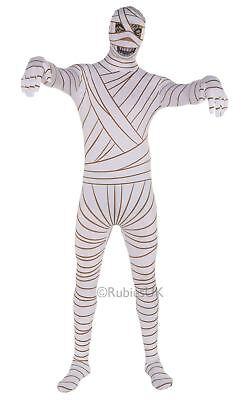 Ägypter Weiß Mumie 2. Skin Kostüm Hauteng Halloween Kostüm Unisex Outfit