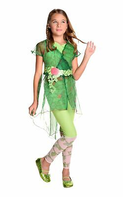 Poison Ivy Girls Costume Marvel DC comics Batman Fancy dress Outfit Deluxe