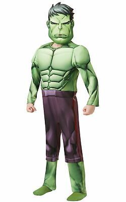 Hulk Boys Costume Kids Marvel DC comics Justice League Fancy Dress - Kid Hulk Kostüm
