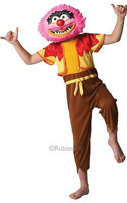 Kinder Jungen Deluxe Tier die Muppets Schlagzeuger Tv Film Kostüm Kleid Outfit ()