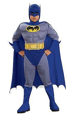 Batman, Muskel Brust, Klein, Offiziell Lizenziert Kinder Kostüm Kostüm