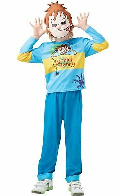 Boys Horrid Henry Costume Book Week Day Fancy Dress Outfit