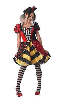 Damen Rote Königin der Herzen Kostüm Alice Im Wunderland Film Kostüm Outfit