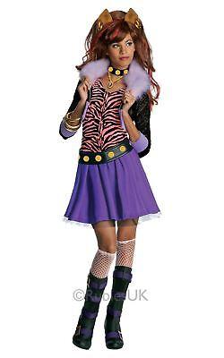 filles Clawdeen Wolf Loup-garou Monster High TV ENFANT JOUET costume déguisement