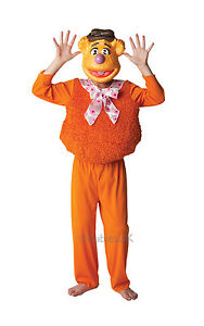 FANCY-DRESS-COSTUME-DISNEY-MUPPETS-FOZZY-BEAR-SMALL-AGE-3-4