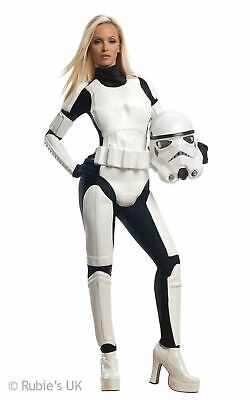 Stormtrooper Fancy Dress Costume Womens Disney Star Wars Fancy Dress Outfit