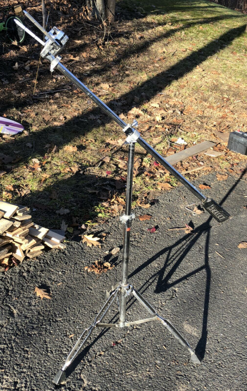 Tama Double Tom Drum Stand Vintage Counterweight Tube Japan B
