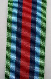 British, Medal Ribbon For Sierra Leone, Full Size.