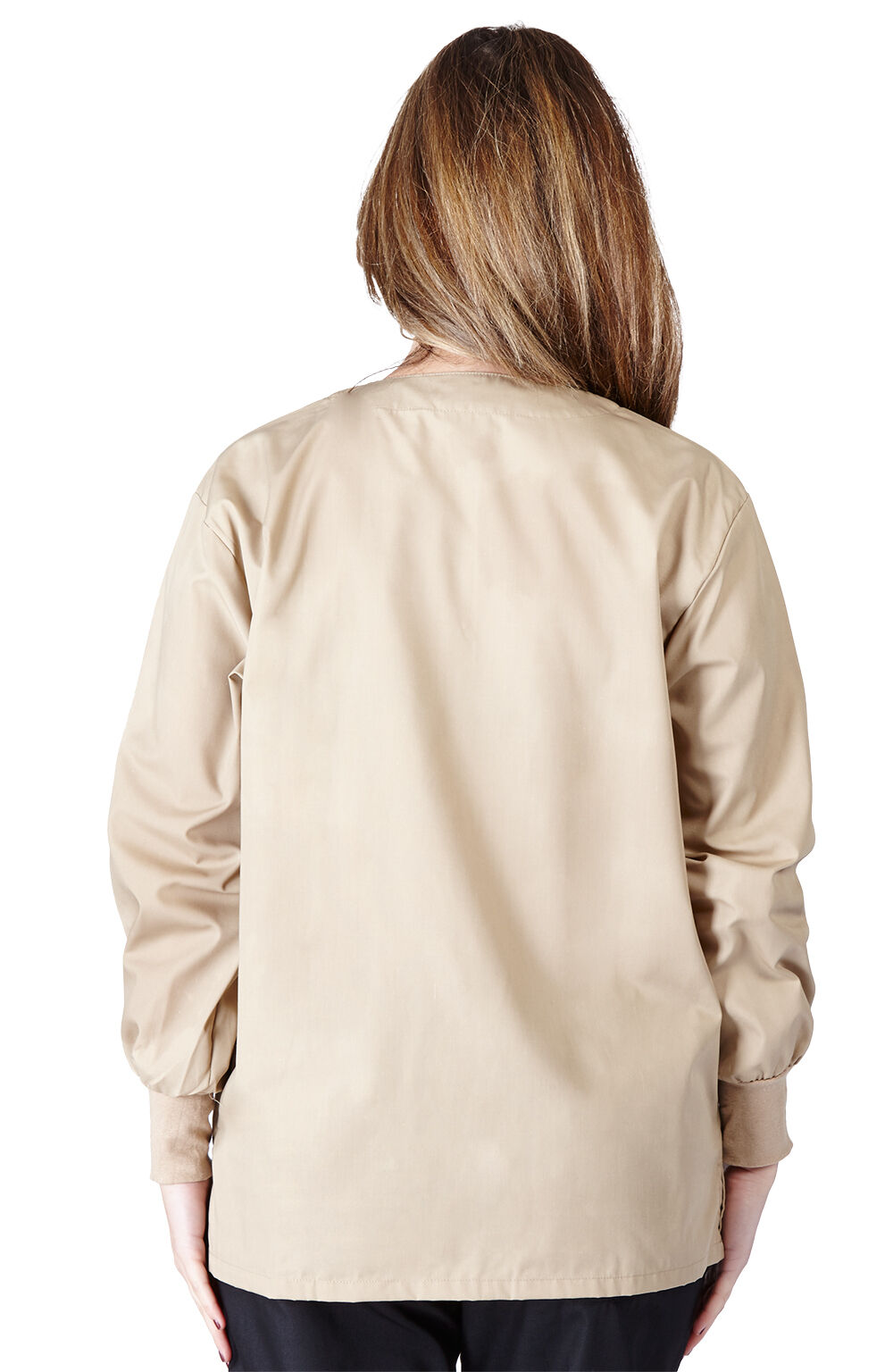 Medical Nursing NATURAL UNIFORMS Warm Up Top Scrubs Jackets Lab Coats for Women