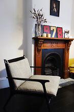Scandinavian Armchairs, blak Paddington Eastern Suburbs Preview