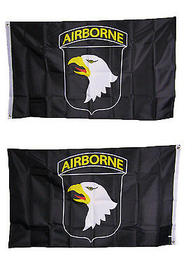 3x5  Army Airborne 101st Heavy Duty Polyester Nylon 200D Double Sided Flag