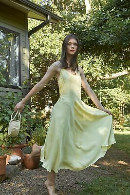 Vince Double Layer Sleeveless Midi Dress SIZE XS 420$