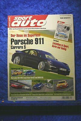 Sport Auto 12/11 911 Carrera S BMW M5 C63 AMG Coupe Black Series Nissan GT-R gebraucht kaufen  Emsdetten