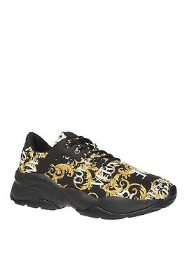 Versace Jeans Couture Baroque Print Trainers