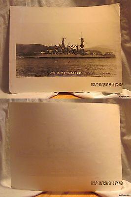 Reprint 8x10 Photo-USN: U.S.S. Tennessee-ACR10 PreWWI/WWI/Post WWI-[1906-1922]