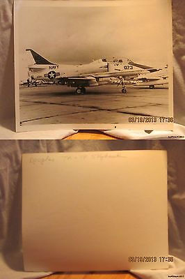 Reprint 8x10 Photo-USN: Douglas TA 4F Skyhawk