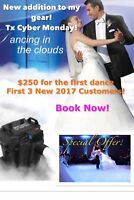 $100 Dry ice for the first dance + free lights call 416-666-5579