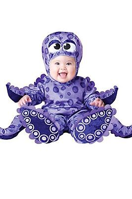 Warm Cute Tiny Tentacles Octopus Infant Halloween Costume, Size 12-18 Months - Tiny Tentacles Halloween Costume