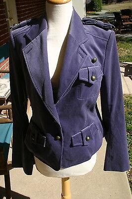 Yves Saint Laurent rive gauche YSL Velvet Jacket sz F40 NWOT