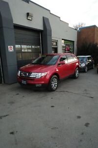 2010 Ford Edge Limited AWD, CHROME RIMS, LOW KMS!