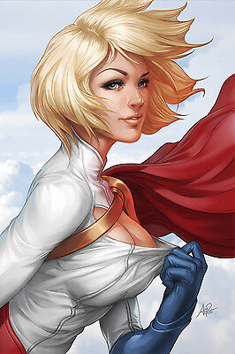 "5 x Sexy DC Comics Stanley Lau 7"" x 5"" Photo Prints. Powergirl Harley Quinn"