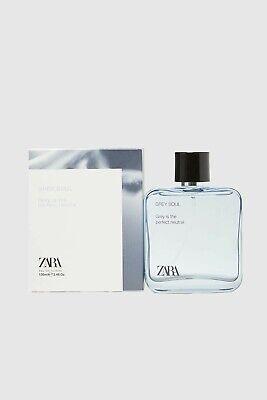 Zara Man Grey Soul 100 ML Eau de Toilette New Perfume Fragrance 3.4 fl. oz.