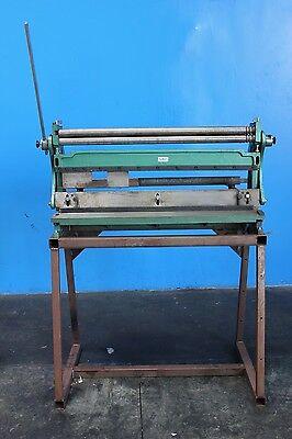 20 Gauge X 48 Central Combination Sheet Metal Hand Bend Roll Brake Shear