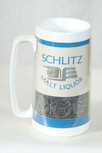 Schlitz Malt Liquor Beer - Plastic Mug Thermo-Serv