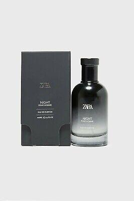Zara Man Night Pour Homme Edition 100 ML Eau de Perfume Fragrance 3.4 FL OZ