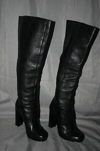 Geat Ready for Winter with Knee High Leather Boots - Size 7.5 New Farm Brisbane North East Preview